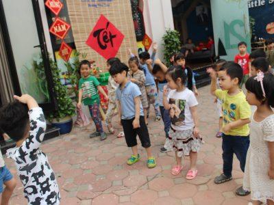 Tập Thể Dục Buổi Sáng Tại Little Sol Montessori